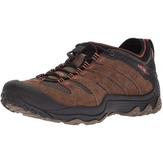 Merrell Mens cham 7 limit Leather Soft toe Lace Up Safety Shoes