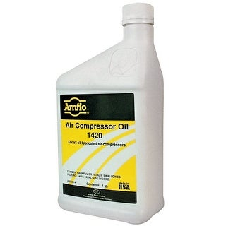 Amflo 1420 Air Compressor Oil, 1 Quart