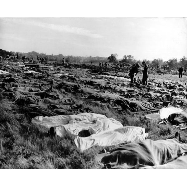 Shop Hundreds Of Dead Soldiers In Stretchers Covered With