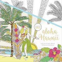 "KaiserColour Perfect Bound Coloring Book 9.75""X9.75'-Aloha Hawaii"