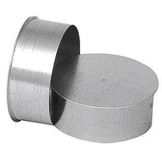 "Gray Metal 8-310 Long End Chimney Cap, 8"", 26 Gauge"