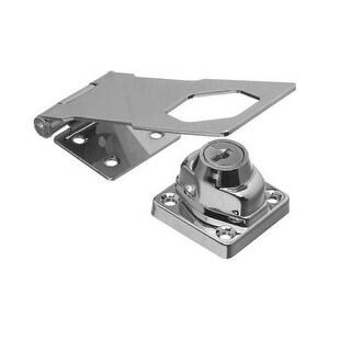 National Hardware N206-953 Keyed Hasps Lock, Chrome