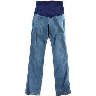 James Jeans NEW Blue Women's Size 32X34 Straight Leg Maternity Jeans