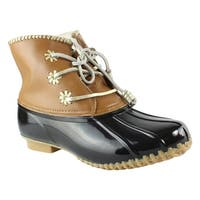 Jack Rogers Womens Chloeclassic Black Snow Boots Size 8