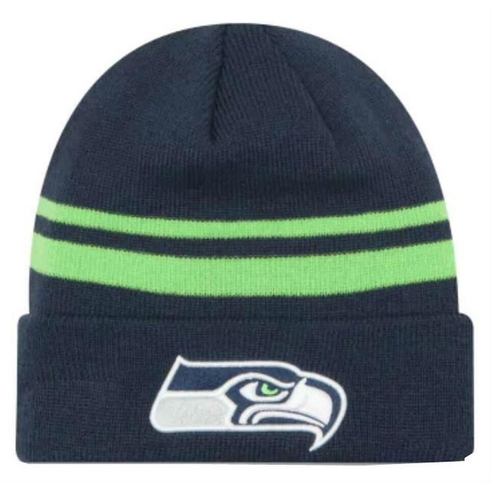 Seattle Seahawks Team NFL Beanie Knit Hat winter Cap New Era