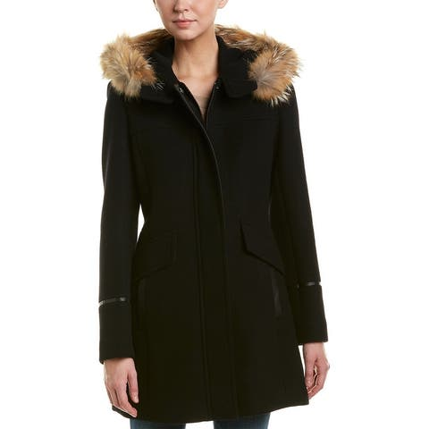 Trina Turk Riley Wool-Blend Coat