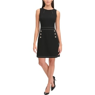 Link to Tommy Hilfiger Womens Wear to Work Dress Sleeveless Suit Separate Similar Items in Dresses