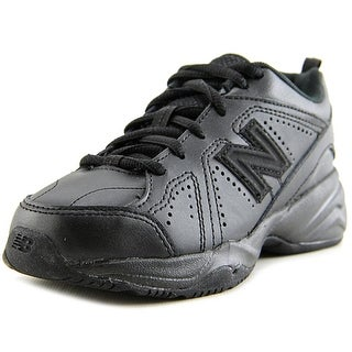New Balance KX624 Youth Round Toe Leather Cross Training