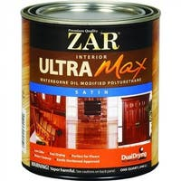 ZAR 36212 Ultra Max Waterborne Oil Modified Polyurethane, Satin Sheen, 1 Qt