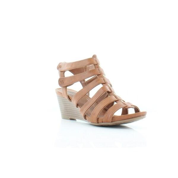 White Mountain Vivaldi Women's Sandals & Flip Flops Tan/Burnished/Smooth - 8