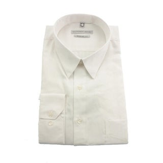 Geoffrey Beene Mens Sateen Regular Fit Dress Shirt