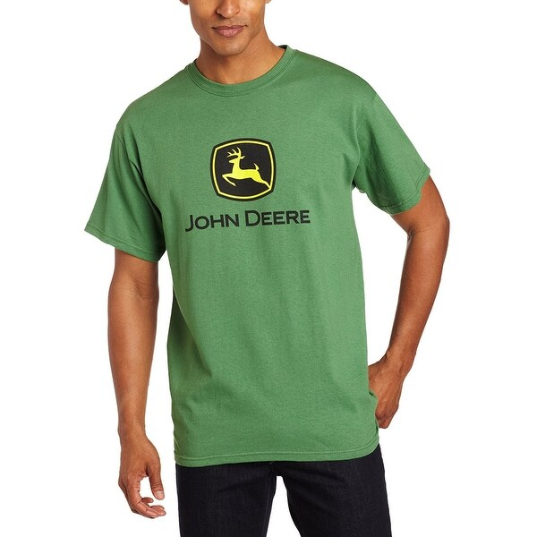 a2888e5d512 Shop John Deere 13000000GR04 Men s Short-Sleeved Logo T-Shirt