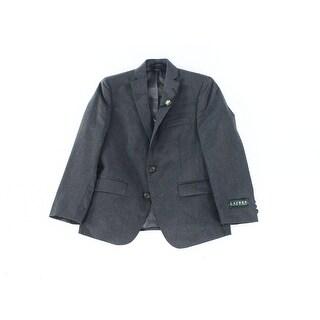 Lauren Ralph Lauren NEW Gray Size 10H Husky 2 Button 3 Pocket Blazer