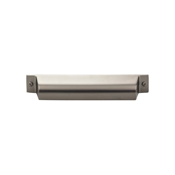 """Top Knobs TK774 Channing 5"""" (128 mm) Center to Center Cup Cabinet Pull from the Barrington Series - n/a"""