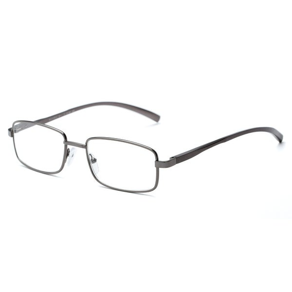 Readers.com The Damien Rectangle Reading Glasses. Opens flyout.