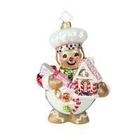 Christopher Radko Sweetest Chef Around Christmas Ornament #1019217 - RED