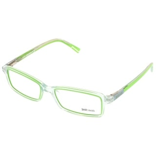 Just Cavalli JC0531/V 093 Clear/Lime Rectangle Optical Frames