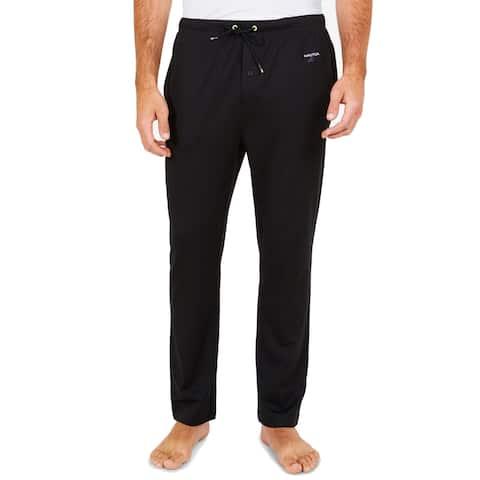 Nautica Mens Sleepwear Large Lounge Pants Drawstring
