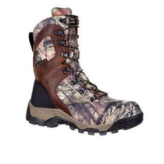 "Rocky Outdoor Boots Mens 9"" Sport Pro Mossy Oak Camo RKS0309