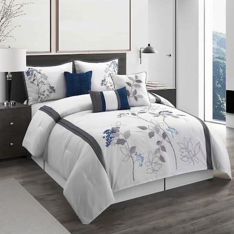 Grand Avenue Tracy 7-Piece Comforter Set