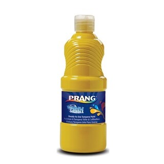 Prang Washable Paint 16Oz Yellow