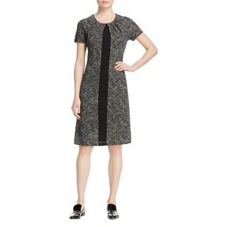 BOSS Hugo Boss Womens Elimara Wear to Work Dress Printed Knee Length