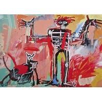 Boy and Dog, a Johnnypump, Jean-Michel Basquiat