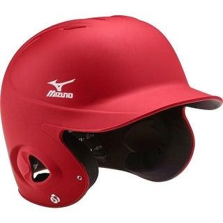 Mizuno MBH252 MVP Solid Batting Helmet (Option: Black)