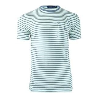 Polo Ralph Lauren Men\u0027s Classic-Fit Striped T-Shirt - Green Multi