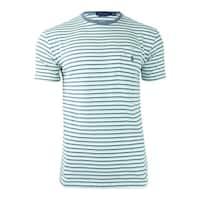 Polo Ralph Lauren Men's Classic-Fit Striped T-Shirt - Green Multi