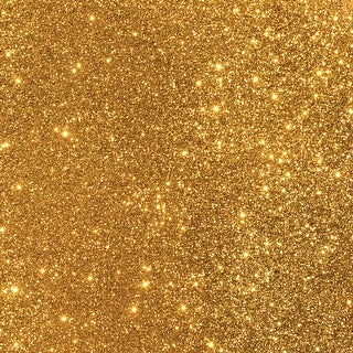 """American Crafts DuoTone Glitter Cardstock 12""""X12""""-Gold - GOLD"""