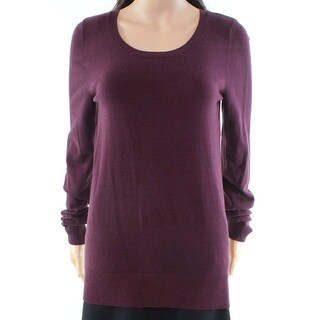 Abound NEW Purple Womens Size Small S Scoop Neck Pullover Sweater