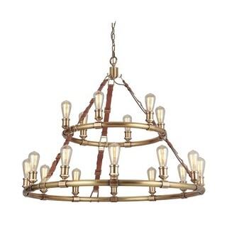 "Craftmade 48118 Huxley 18 Light 43-1/2"" Wide Ring Chandelier"