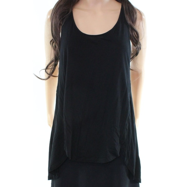 964280bd14a1b Shop Cable   Gauge NEW Black Women s Size Medium M Slub-Knit Racerback Tank  Top - Free Shipping On Orders Over  45 - Overstock - 19450266