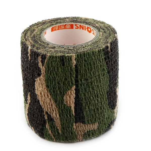 Athletic Sports Gym Camouflage Stretch Muscle Care Support Tape Wrap Bandage