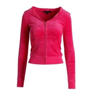Juicy Couture Black Label Womens Juicy Dots Velour Original Jacket
