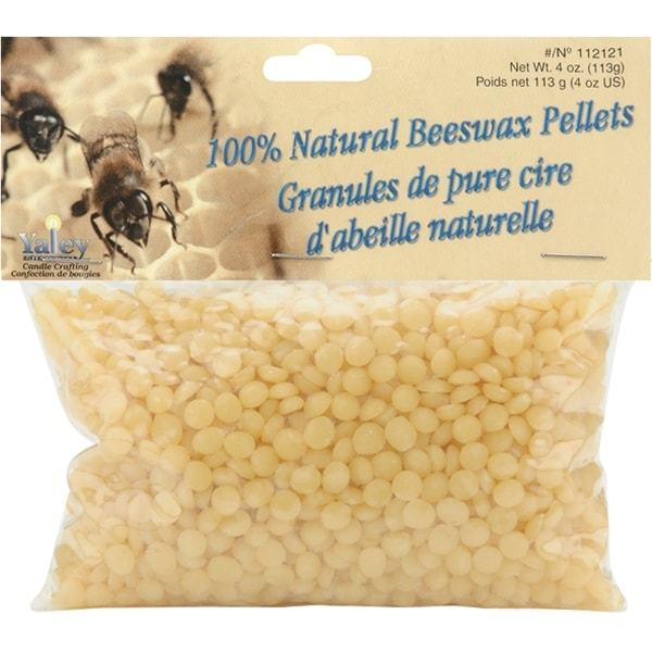 Beeswax Pellets 4oz-Natural - Off-white
