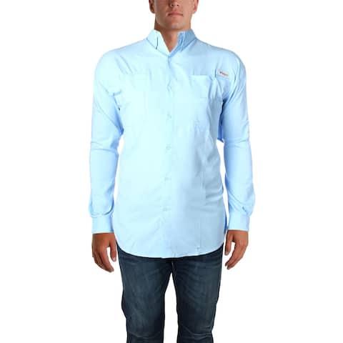 Columbia Sportswear Mens Big & Tall Tamiami Button-Down Shirt Quick Dry - 4X