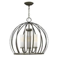 Fredrick Ramond FR32906 3 Light 1 Tier Chandelier from the Renata Collection