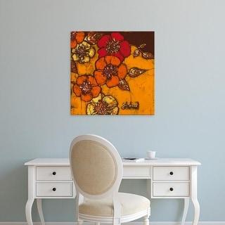 Easy Art Prints Andrea Davis's 'Fire Bloom III' Premium Canvas Art