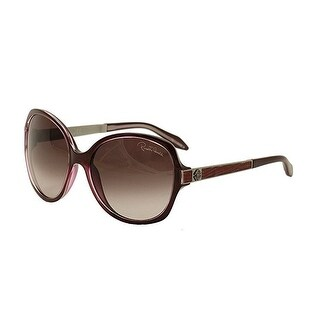 Roberto Cavalli RC649 Bucaneve Round Sunglasses in Purple