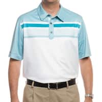 Ashworth Men's PGA Championship Tournament Polo White/Seaglass/Enamel Z79796 (X-Large)
