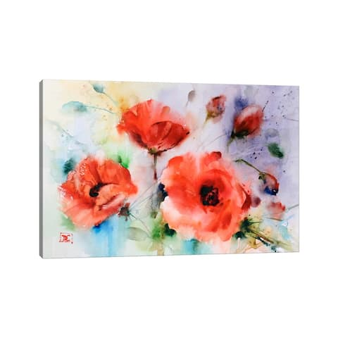 "iCanvas ""Poppies"" by Dean Crouser Canvas Print"