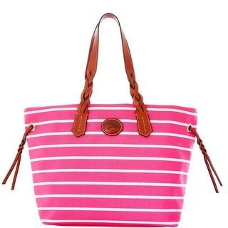 Dooney & Bourke Eastham Shopper (Introduced by Dooney & Bourke at $199 in Nov 2012) - hot pink hot pink wh