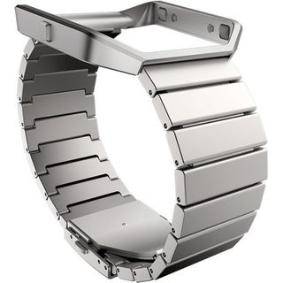 Fitbit Sleep/Activity Monitor Wristband - Steel - Stainless Steel (Refurbished)
