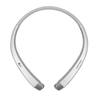 LG TONE INFINIM HBS 910 Bluetooth Stereo Headset-Silver