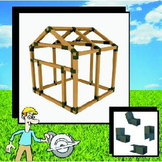 38X38 E-Z Frame Dog House or Pet House Kit