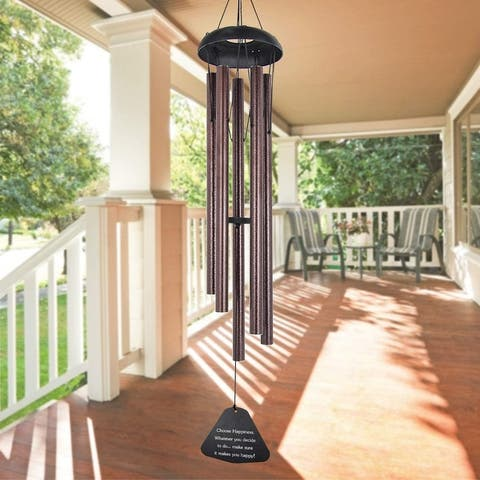 "36"" Large Memorial Windchime Unique Outdoor"