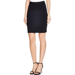 Guess Womens Mirage Knit Skirt Geo Stitch Stretch