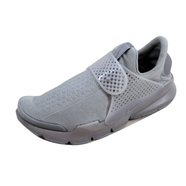 844ebeab1215 Shop Nike Men s Sock Dart KJCRD Wolf Grey Wolf Grey-White 819686-006 ...